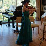 10月21日(日) 鹿野露馨バイオリンコンサートを開催しました。